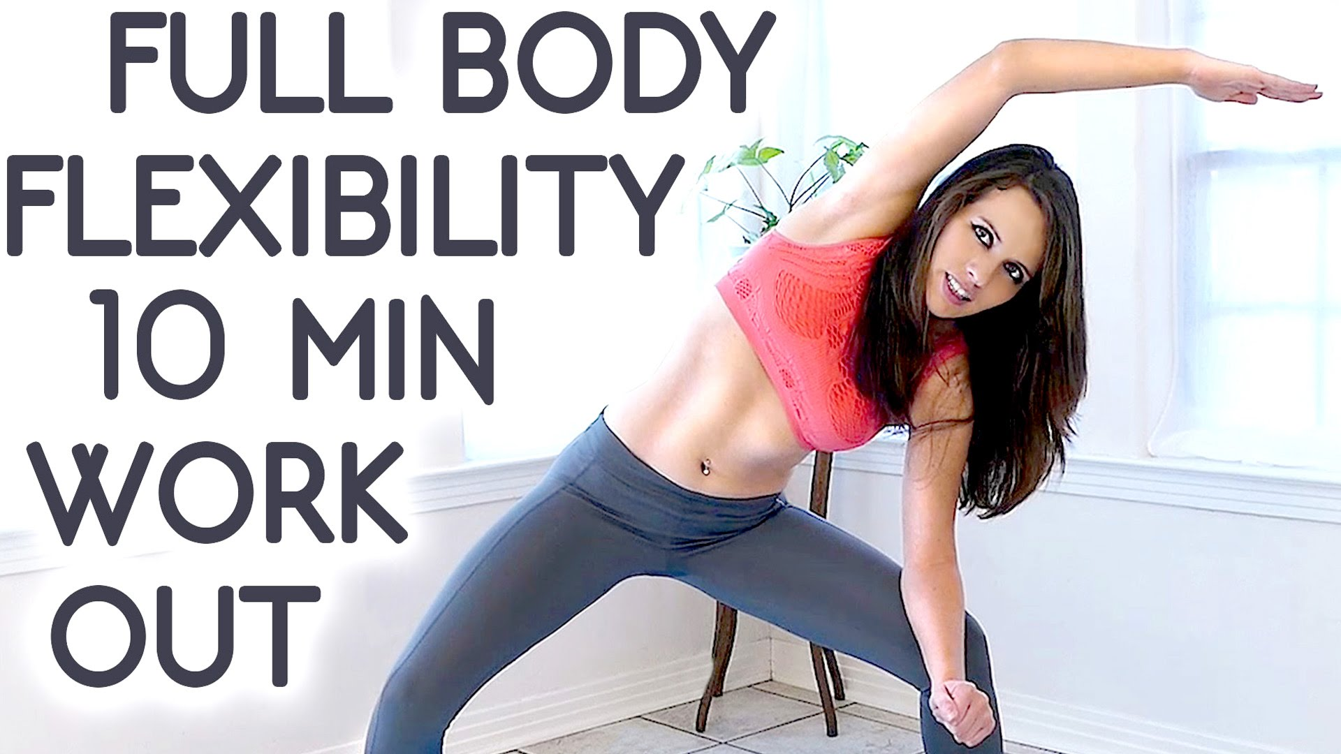 Beginners Yoga Short And Easy 10 Minute Workout Routine Video