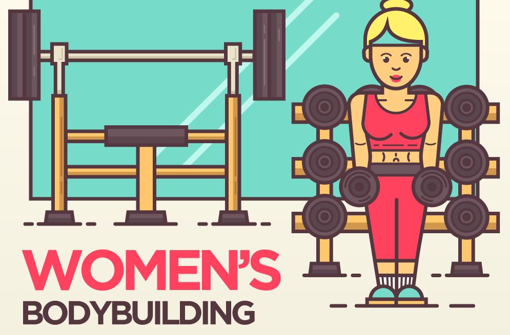 women bodybuilding myths