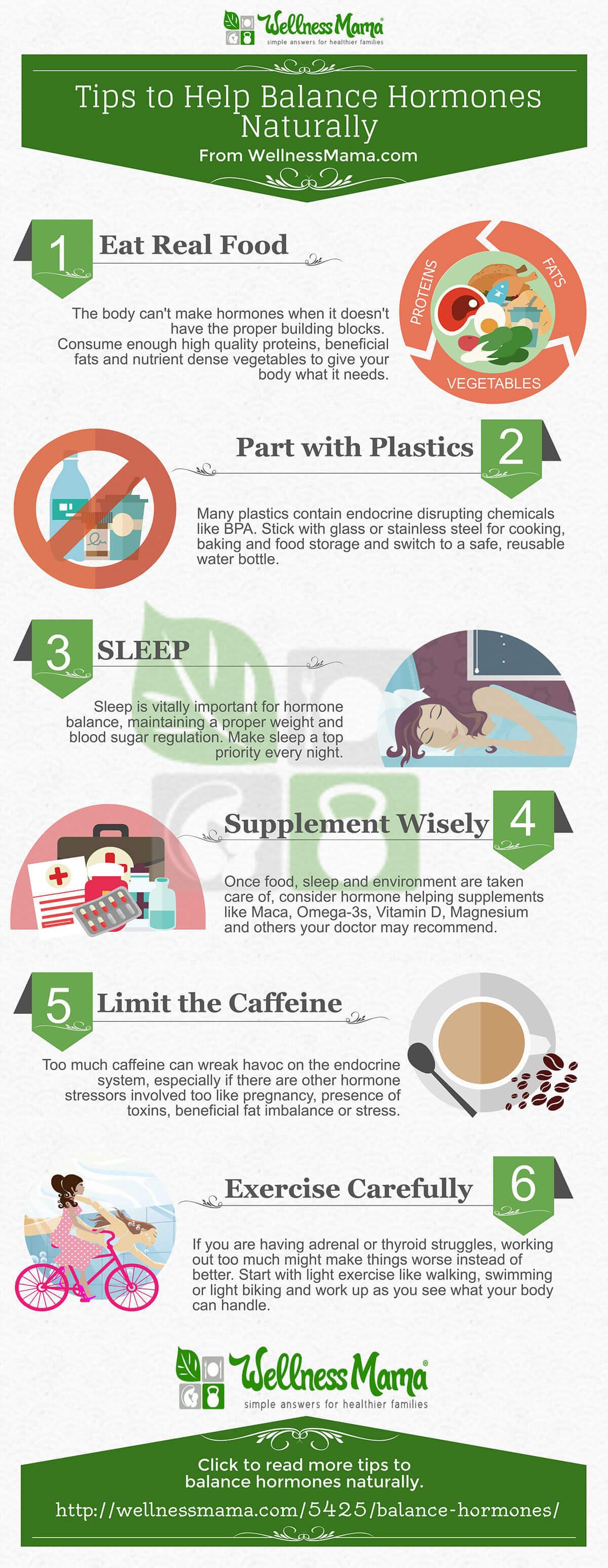 Ways To Balance Hormones Naturally