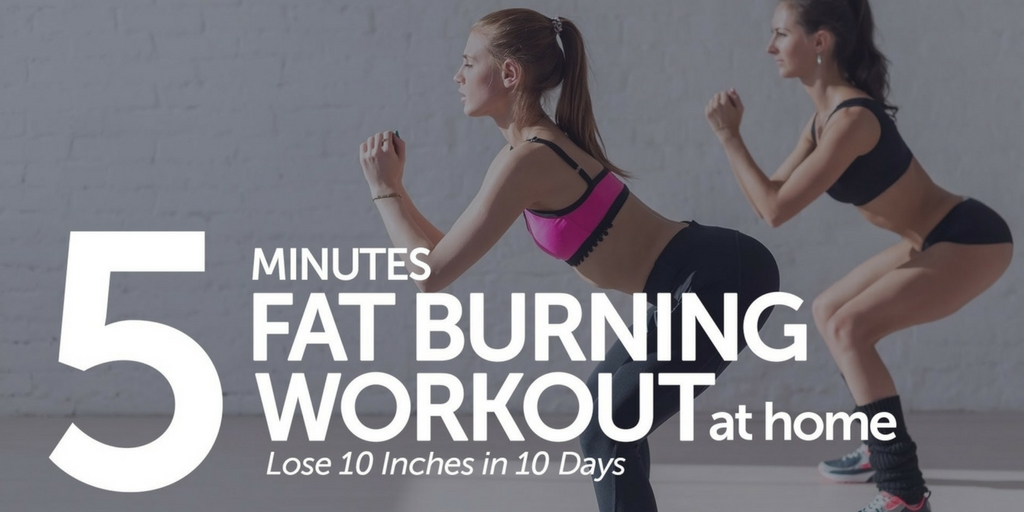 Belly Fat Removal With Just 5 Mins Workout