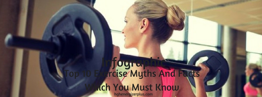 exercise myths and facts