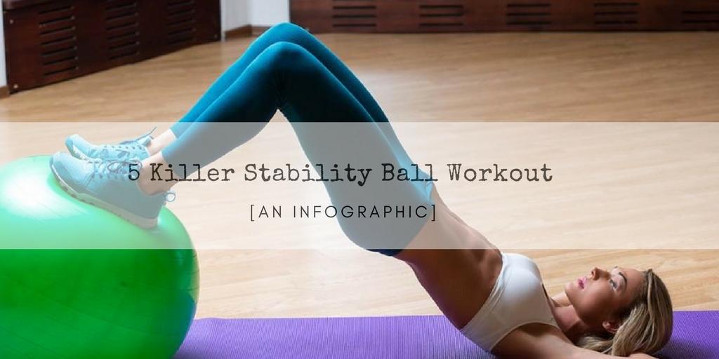 5 Killer Stability Ball Workout