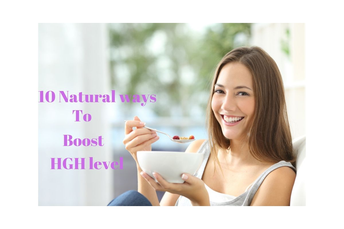 10 Natural ways to boost HGH level